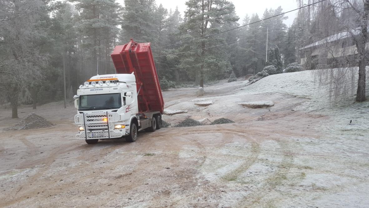 HM Grave Service, Massetransport, Maskintransport, Traktor til leie, Konteinerutleie, Konteriner til leie