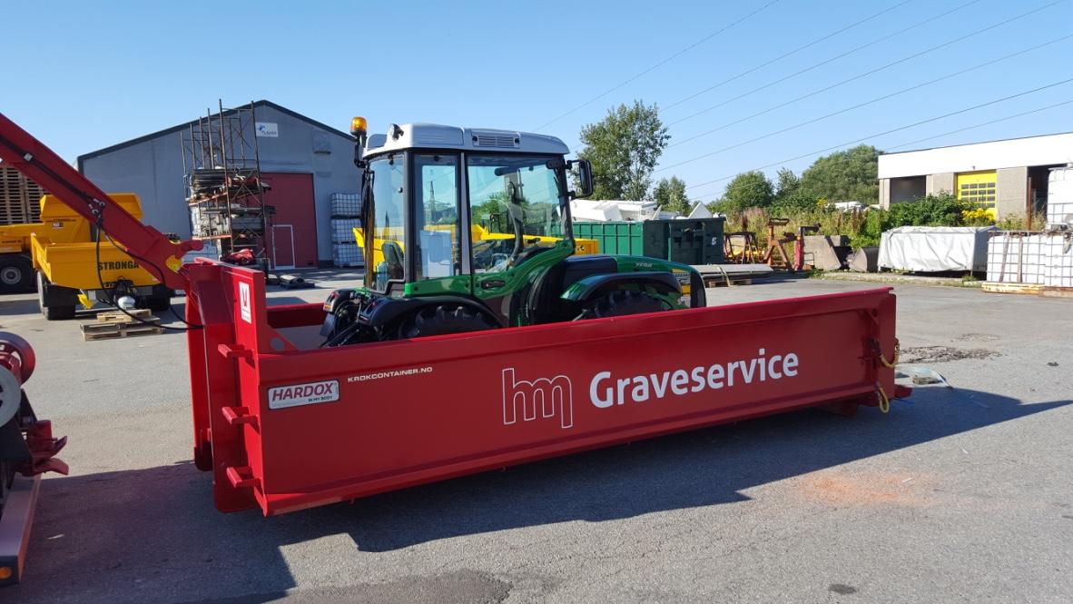 Traktor til leie